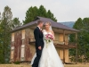 Couple in front of historic ghost town of Southern Cross